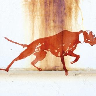 Perro-tinta
