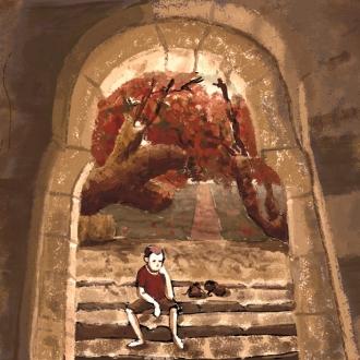 Puerta piedra