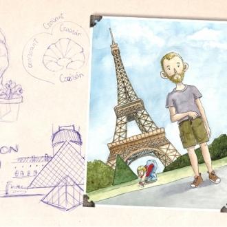 Album no recuerdos París